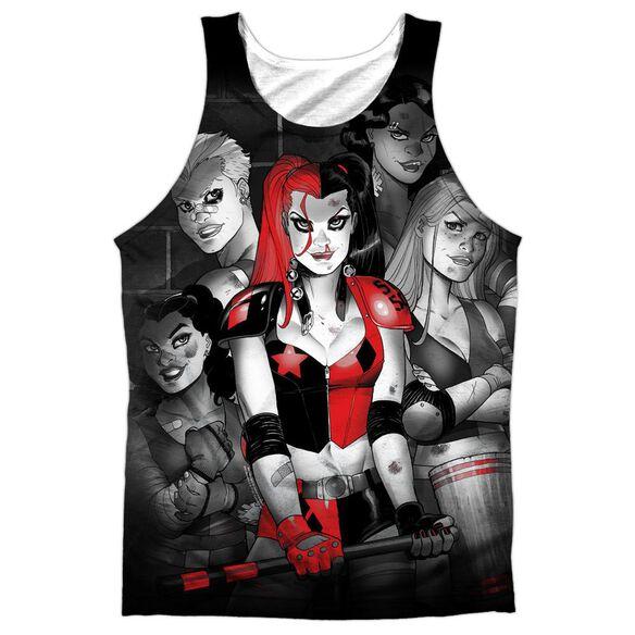 Batman Bad Girls Adult 100% Poly Tank Top