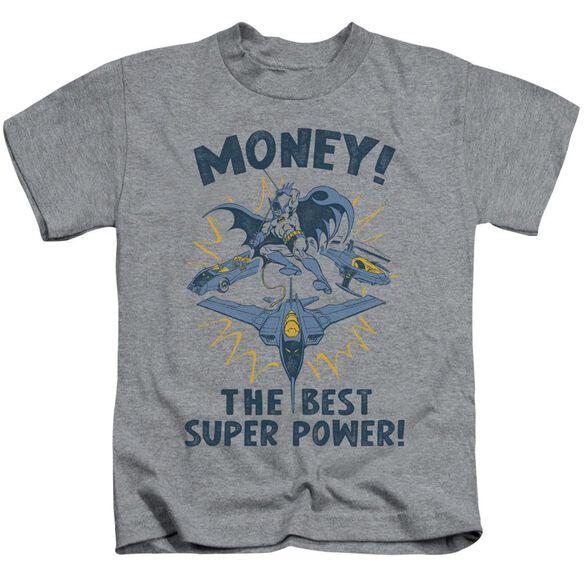 Dc Money Short Sleeve Juvenile Athletic Heather T-Shirt