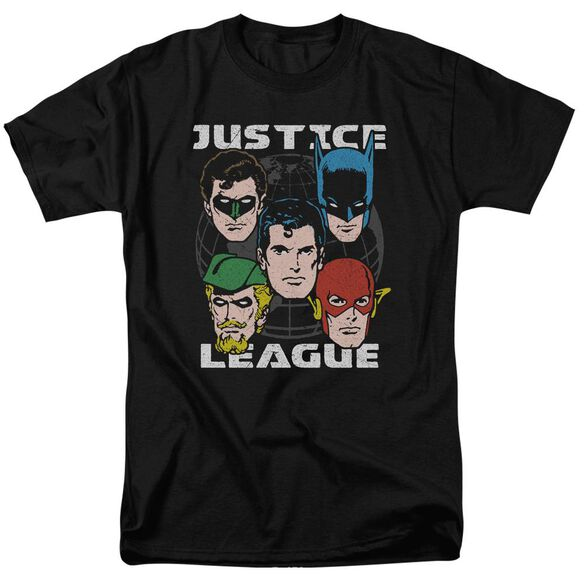 Jla Head Of States Short Sleeve Adult T-Shirt