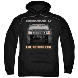 Hummer Like Nothing Else Adult Pull Over Hoodie