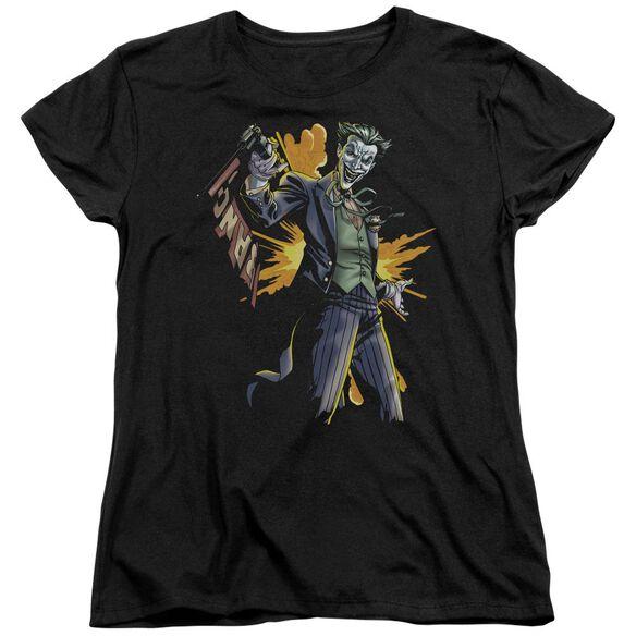 Batman Joker Bang Short Sleeve Womens Tee T-Shirt