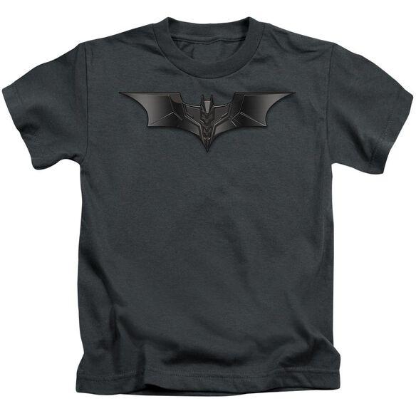 Dark Knight Carbon Fiber Shield Short Sleeve Juvenile T-Shirt