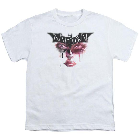 Dark Knight Rises Meow Short Sleeve Youth T-Shirt