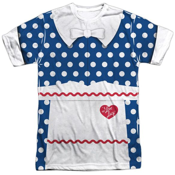 I Love Lucy Lucy Costume Short Sleeve Adult Poly Crew T-Shirt
