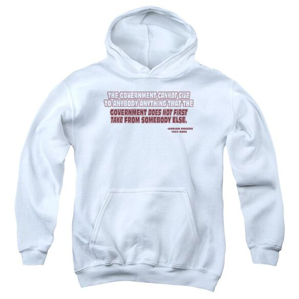 Government Give Take Youth Pull Over Hoodie