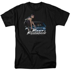 FAST AND THE FURIOUS CAR RIDE - S/S ADULT 18/1 - BLACK - MD - BLACK T-Shirt