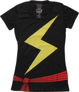 Ms Marvel Costume Juniors T-Shirt