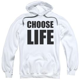 Wham Choose Life Adult Pull Over Hoodie