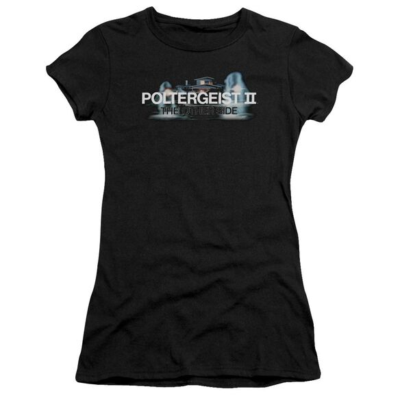 Poltergeist Ii Logo Short Sleeve Junior Sheer T-Shirt