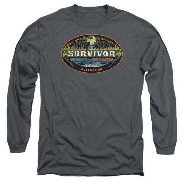 Survivor Heroes Vs Villains Long Sleeve Adult T-Shirt