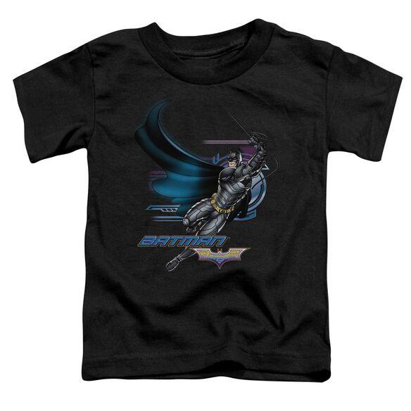 Dark Knight Flyer Short Sleeve Toddler Tee Black T-Shirt