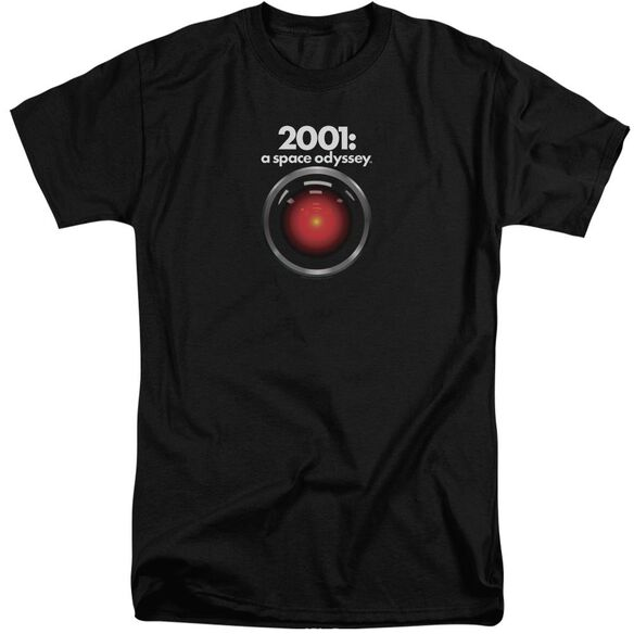2001 A Space Odyssey Hal Short Sleeve Adult Tall T-Shirt