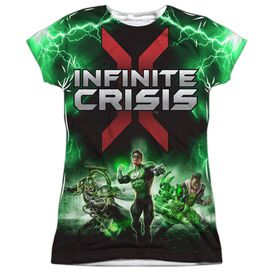 Infinite Crisis Ic Green Lantern Short Sleeve Junior Poly Crew T-Shirt