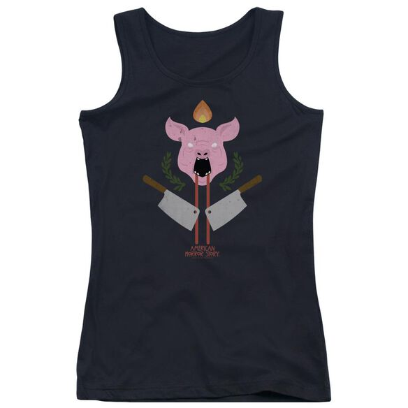 American Horror Story Pig Cleavers Juniors Tank Top
