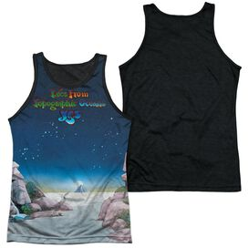 Yes Topographic Oceans Adult Poly Tank Top Black Back
