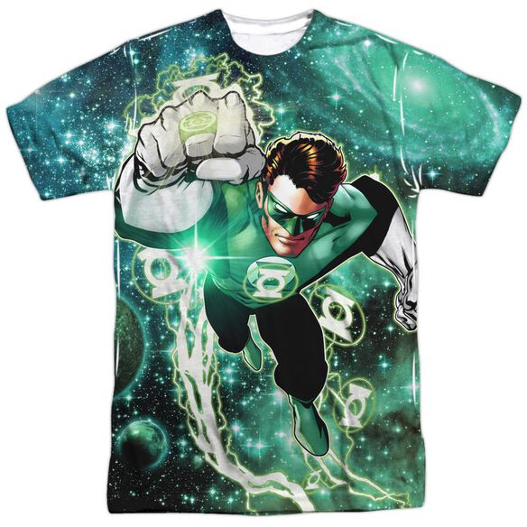 Green Lantern Galactic Hal Short Sleeve Adult Poly Crew T-Shirt