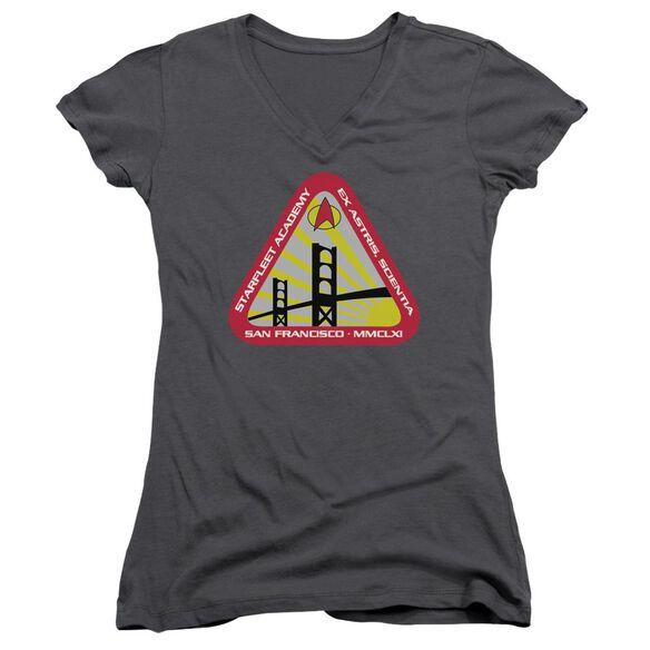 Star Trek Starfleet Academy Junior V Neck T-Shirt