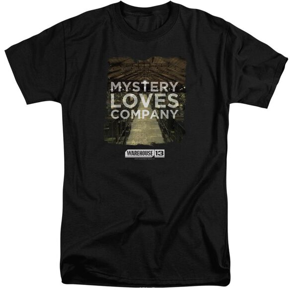 Warehouse 13 Mystery Loves Short Sleeve Adult Tall T-Shirt
