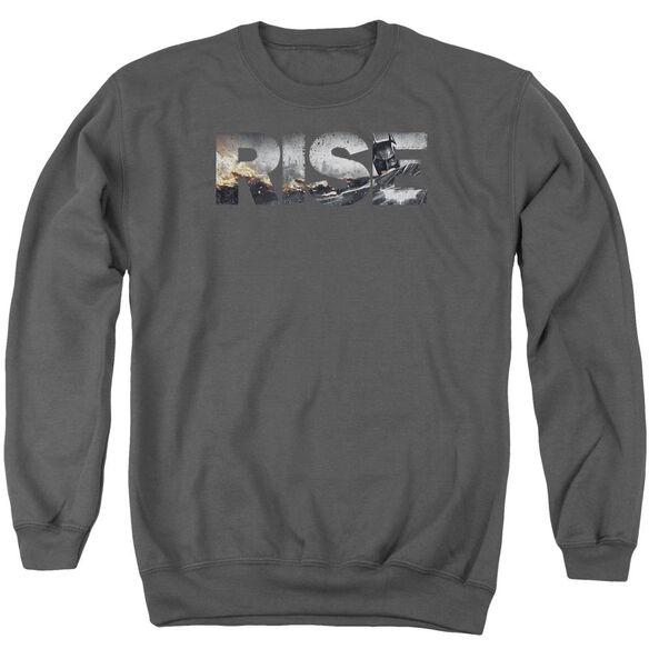 Dark Knight Rises Title Adult Crewneck Sweatshirt