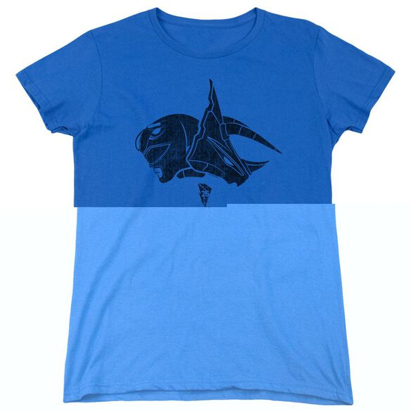Power Rangers Short Sleeve Women's Tee Royal T-Shirt
