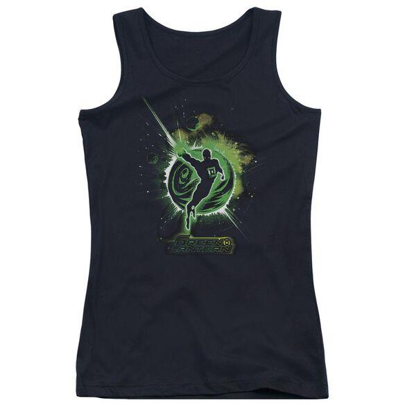 Green Lantern Shadow Lantern Juniors Tank Top