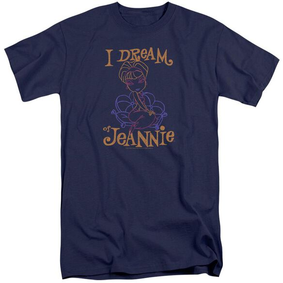 I Dream Of Jeannie Jeannie Paint Short Sleeve Adult Tall T-Shirt