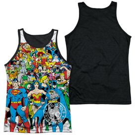 Dc Original Universe Adult Poly Tank Top Black Back