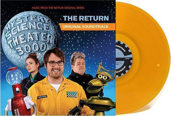 Mystery Science Theater 3000 - The Return Music From The Netflix Original Series [Exclusive Mustard Yellow Vinyl]