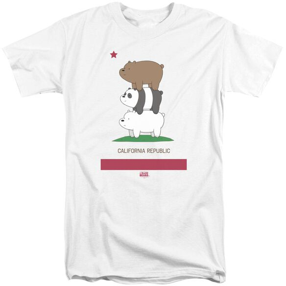 We Bare Bears Cali Stack Short Sleeve Adult Tall T-Shirt