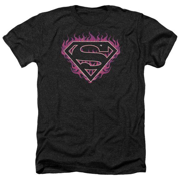 Superman Fuchsia Flames Adult Heather