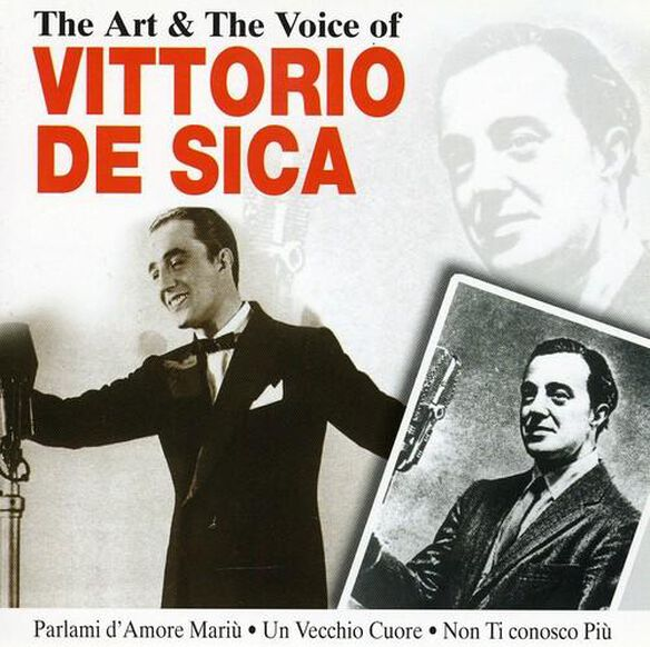 Art & Voice Of De Sica
