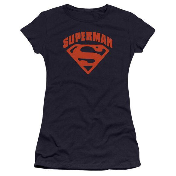 Superman Super Shield Premium Bella Junior Sheer Jersey