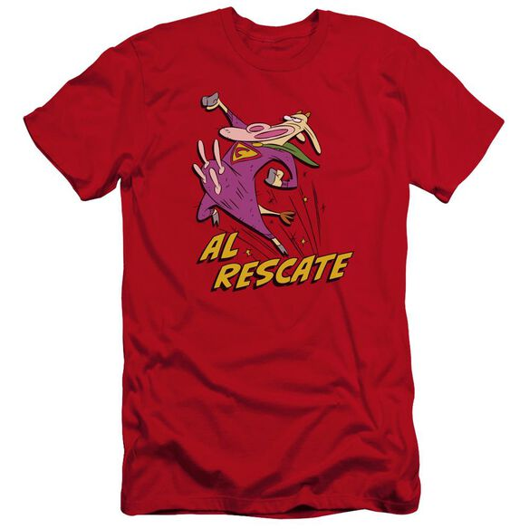 Cow And Chicken Al Rescate Premuim Canvas Adult Slim Fit