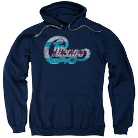 Chicago Flag Logo Adult Pull Over Hoodie
