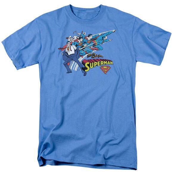 Dc Quick Change Short Sleeve Adult Carolina Blue T-Shirt