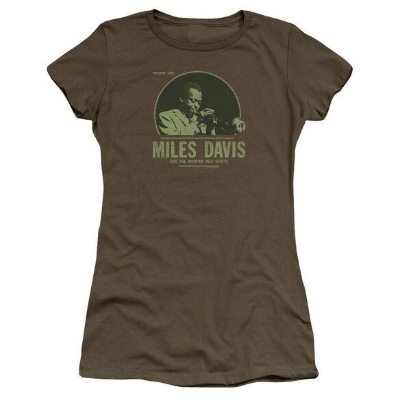 Miles Davis The Miles Premium Bella Junior Sheer Jersey Military