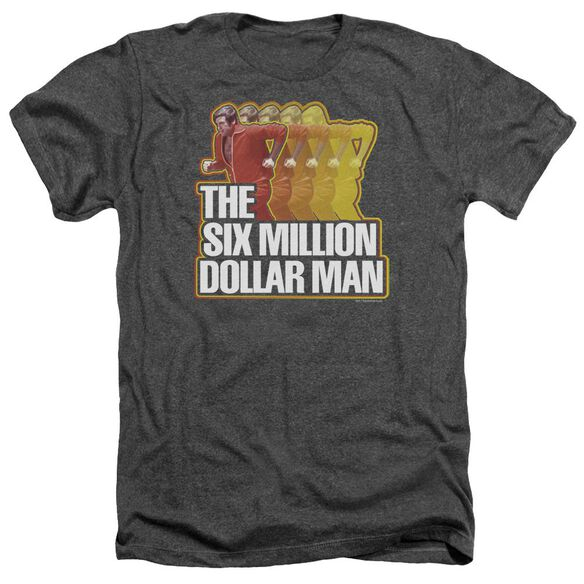 Six Million Dollar Man Run Fast Adult Heather