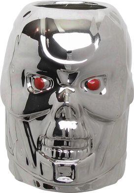Terminator 2 Endoskeleton Skull Sculpted Mug