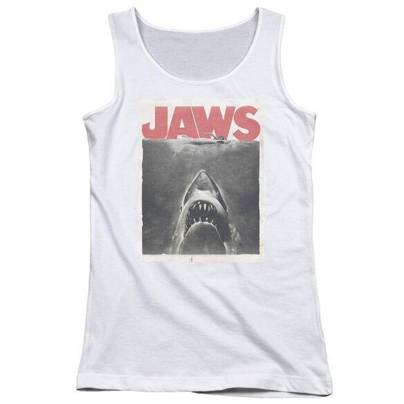 Jaws Classic Fear Juniors Tank Top