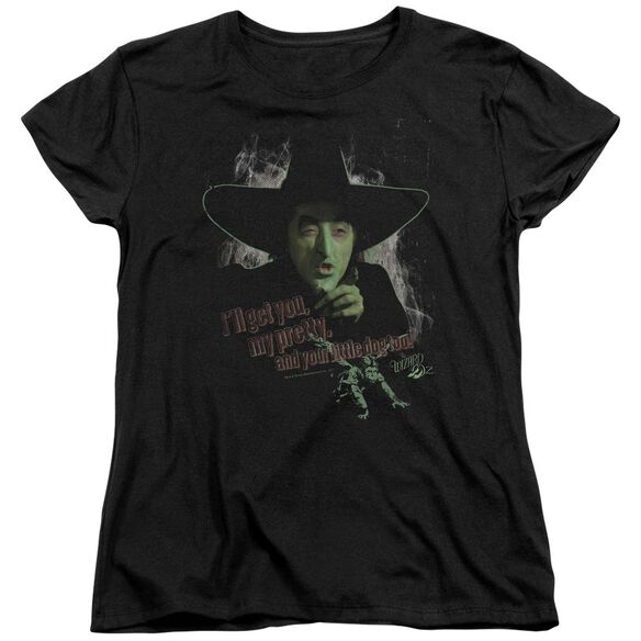 Wizard Of Oz And Your Little Dog Too Short Sleeve Womens Tee T-Shirt