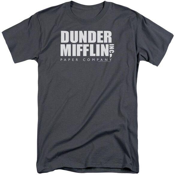 The Office Dunder Mifflin Short Sleeve Adult Tall T-Shirt
