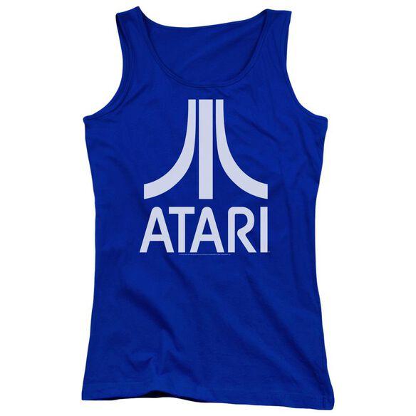 Atari Atari Logo Juniors Tank Top Royal