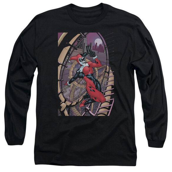 Batman Harley First Long Sleeve Adult T-Shirt