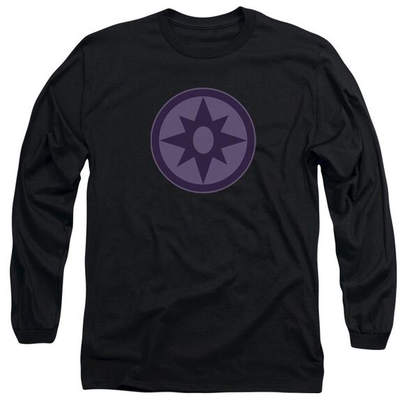 Green Lantern Sapphire Symbol Long Sleeve Adult T-Shirt