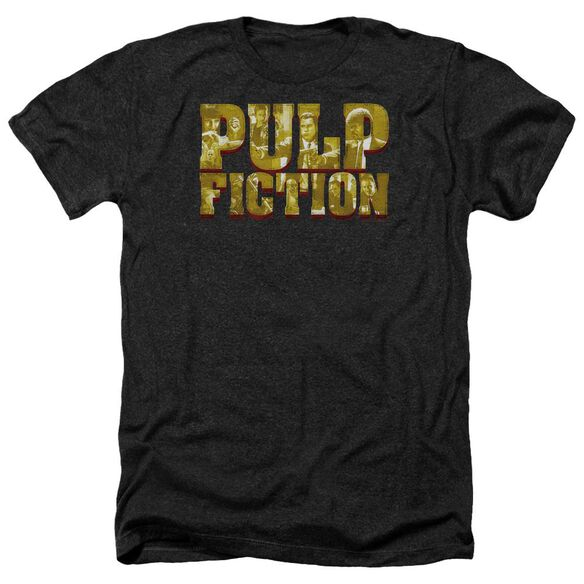 Pulp Fiction Pulp Logo Adult Heather