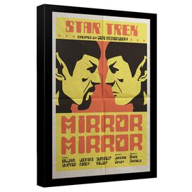 Star Trek Tos Episode 33 Canvas Wall Art With Back Board