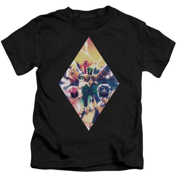 Power Rangers Sdcc Ranger Diamond 1 Short Sleeve Juvenile T-Shirt