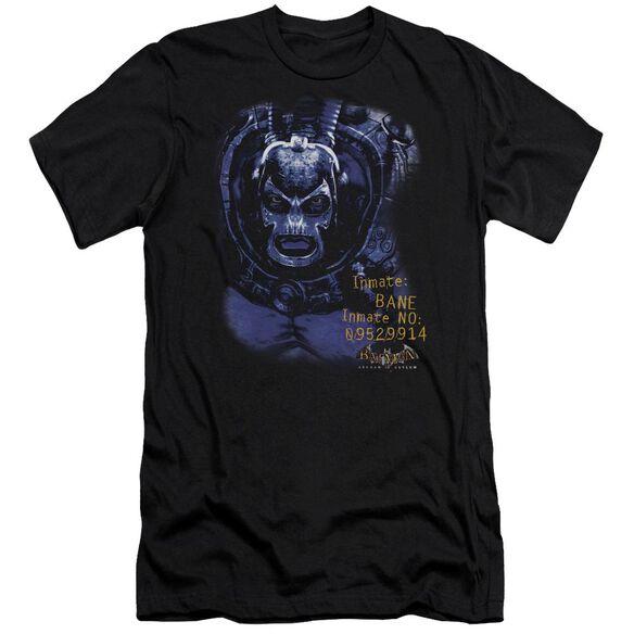 BATMAN AA ARKHAM BANE - S/S ADULT 30/1 - BLACK T-Shirt