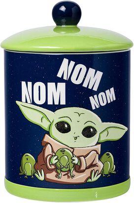 Star Wars The Mandalorian The Child Nom Nom Frogs Cookie Jar