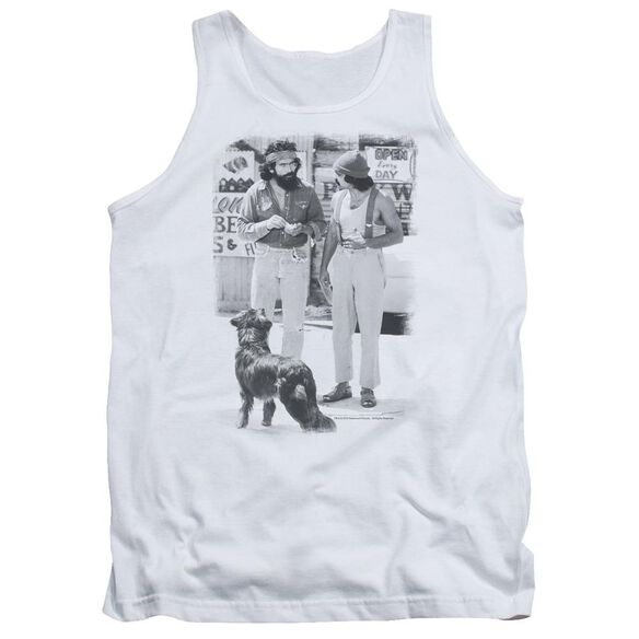 Up In Smoke Cheech Chong Dog Adult Tank